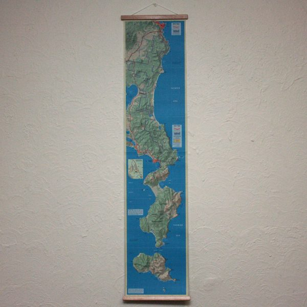 Freycinet Peninsula Wall Map