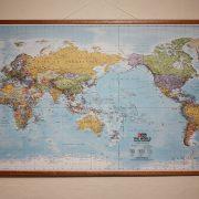 Hema World Supermap Laminated with Hangers