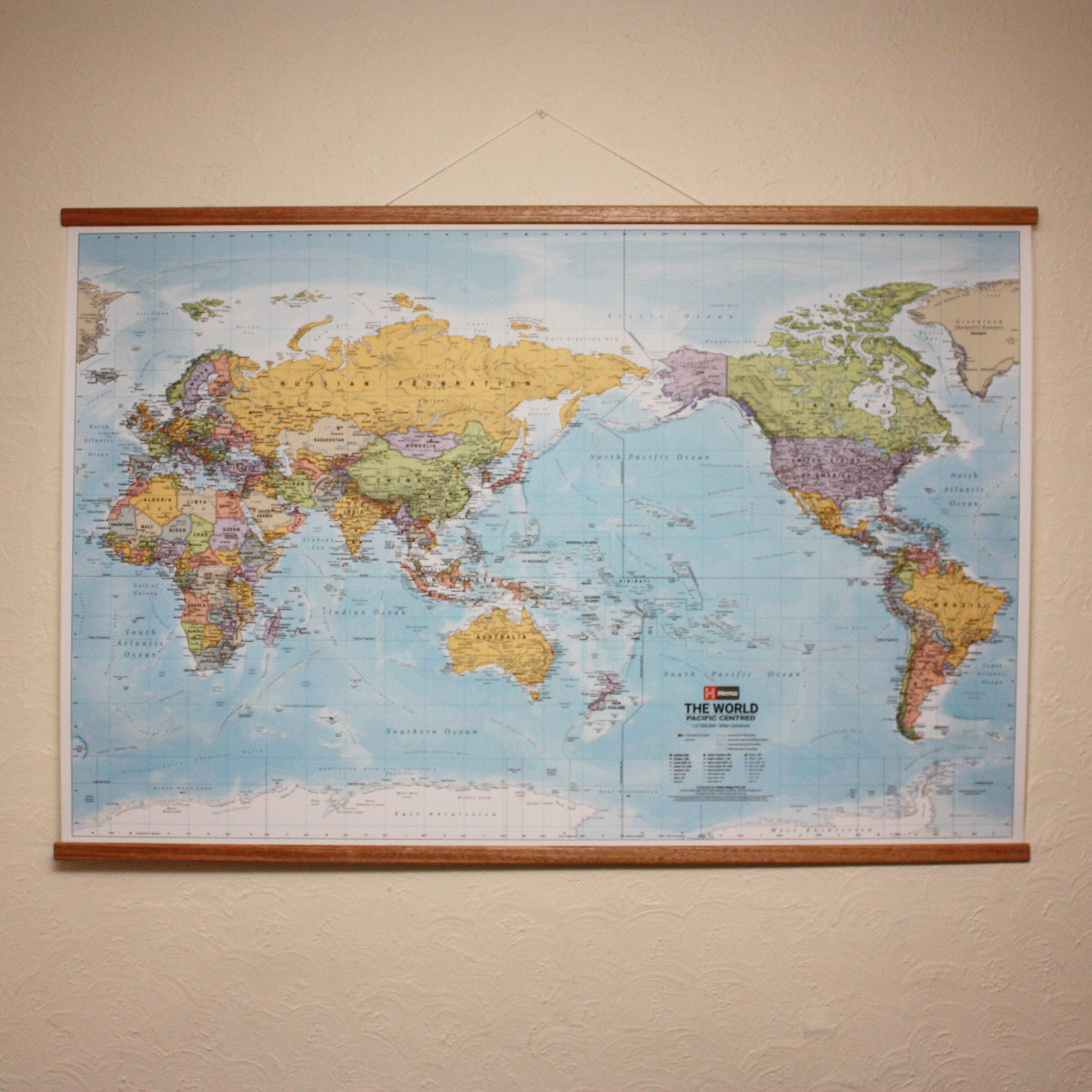 World Wall Map with Timber Hanging Rails - Hema on map mirror, map skirt, map accessories, map of downtown denver rtd, map bag, map scrapbook, map chair, map hwy 224 clackamas 32nd, map plastic,