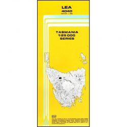 Lea Topographic Map