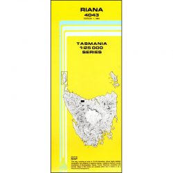 Riana Topographic Map