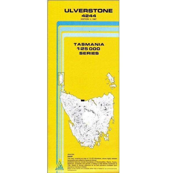 Ulverstone Topographic Map
