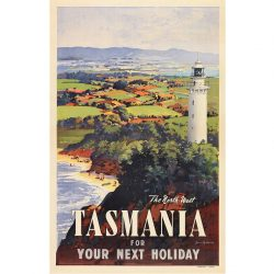 North West Tasmania Travel print