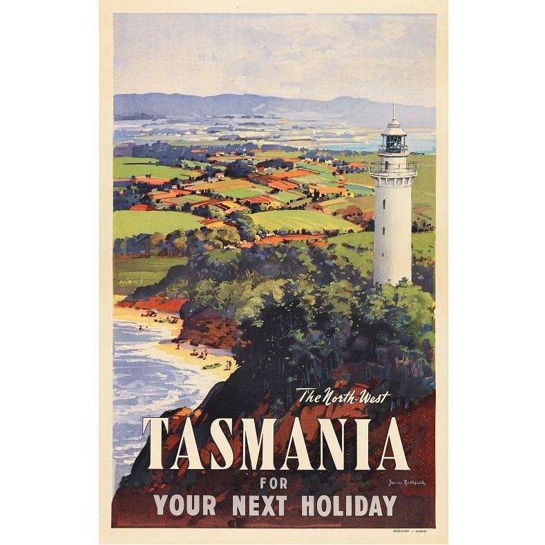 North West Tasmania Travel print