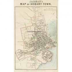 Jarman's Map of Hobart Town