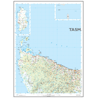 North West Tasmania Topographic Map