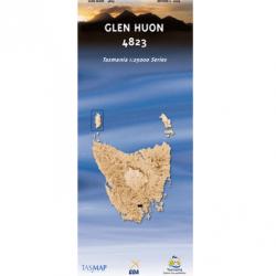Glen Huon Topographic Map 4823