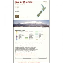 Mount Ruapehu Map