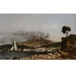 Vue D'Hobart-Town, Prise de la Pointe Kangourou