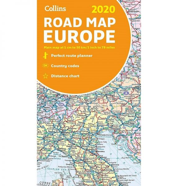Collins Road Map Europe