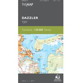 Dazzler Topographic Map