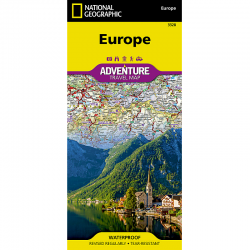 Europe Adventure Travel Map