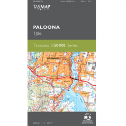 Paloona Topographic Map