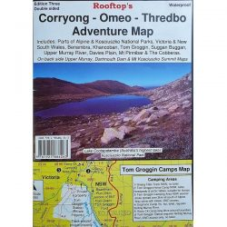 Corryong Omeo Thredbo Adventure Map