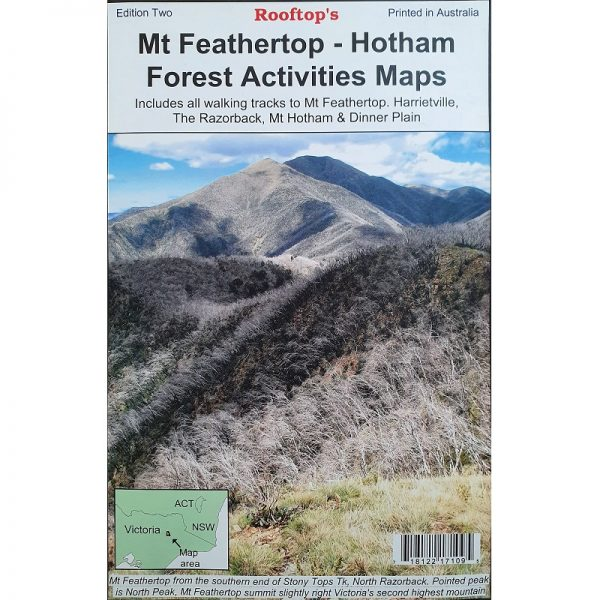 Mt Feathertop - Hotham Forest Activities Map