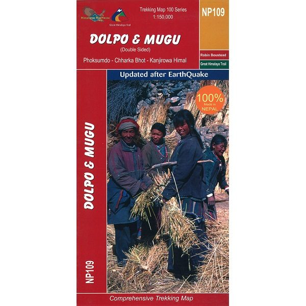 Dolpo & Mugo Trekking Map 9789937649827