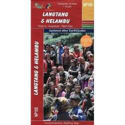 Langtang & Helambu Trekking Map NP105 9789937649780