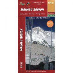 Makalu Trekking Map NP102 9789937649759
