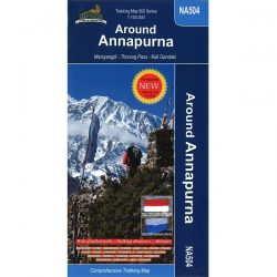NA504 Around Annapurna Map 9789937649278
