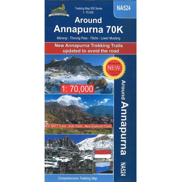 NA524 Around Annapurna Map 9789937649858