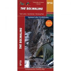 Rolwaling Region Trekking Map 9789937649773
