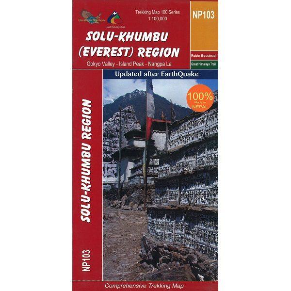 Solo-Khumbu Everest Trekking Map 9789937649766