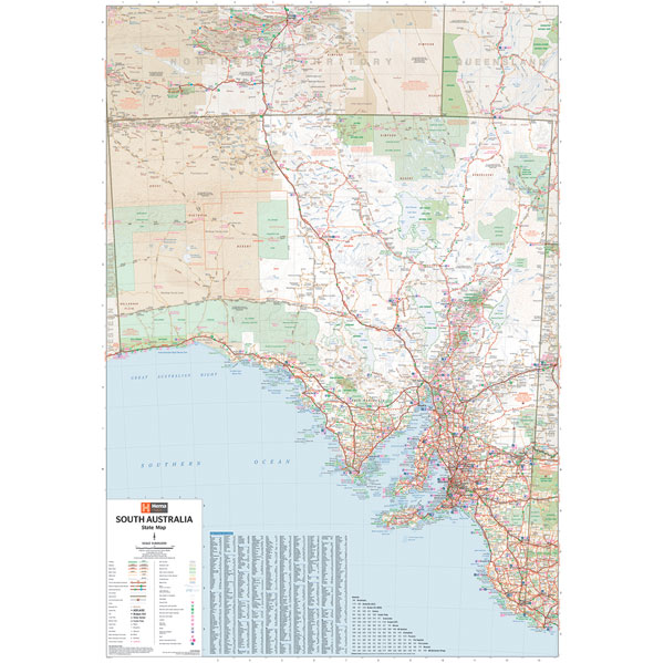 South Australia State Map - Hema