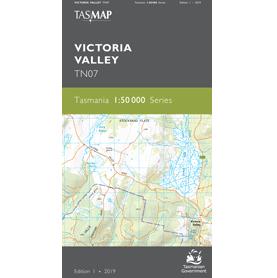 Victoria Valley Map