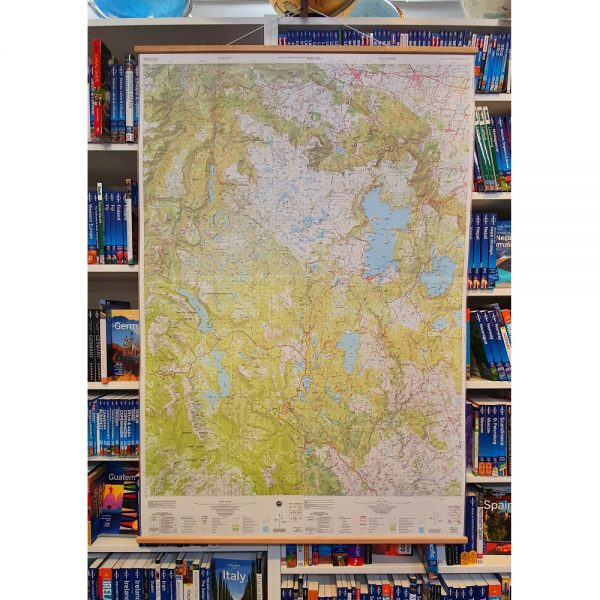 Central Highlands Wall Map