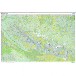Western Arthur Range 1.25k Map