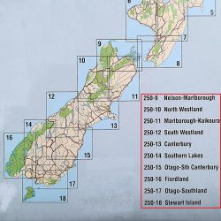 New Zealand Road Maps South