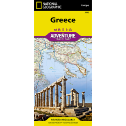 Greece Adventure Travel Map