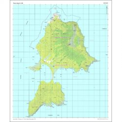Maria Island 1:25k Map