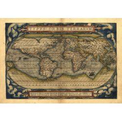 Theatrum Orbis Terrarum Map 1570