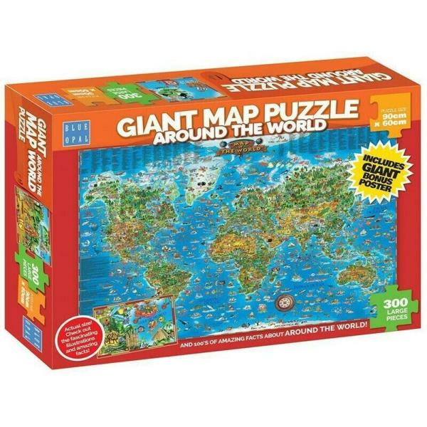 Around the World Puzzle Cover