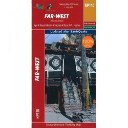 NP110 Far West Nepal Trekking Map