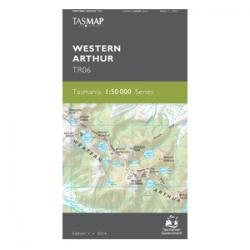 Western Arthur Topo Map Cover