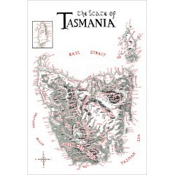 Fantasy Map of Tasmania