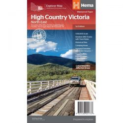 High Country Victoria North East Map