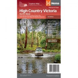 High Country Victoria North West Map