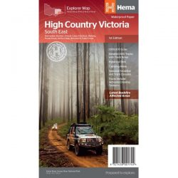 High Country Victoria South East Map