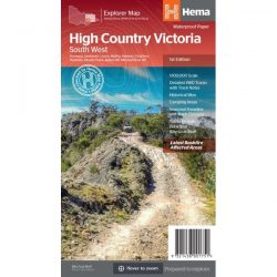 High Country Victoria South West Map